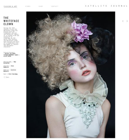 Satellite Journal featuring Artikal Millinery