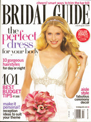 Bridal Guide Magazine July/August 2008 Featuring Artikal Millinery