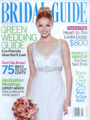 Bridal Guide Magazine May/June 2008