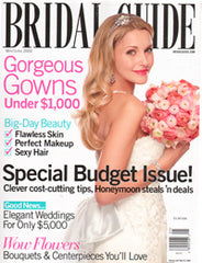 Bridal Guide Magazine May/June 2009 Featuring Artikal Millinery