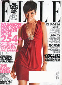 Elle Magazine June 2008 Featuring Artikal Millinery