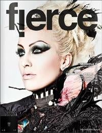 Fierce Magazine February 2011 Cover featuring Artikal Millinery
