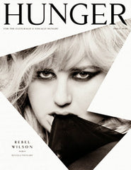 Hunger Magazine Cover September 2013 Featuring Artikal Millinery