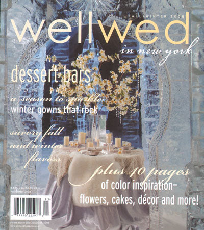 Wellwed Magazine Fall/Winter 2008 Featuring Artikal Millinery