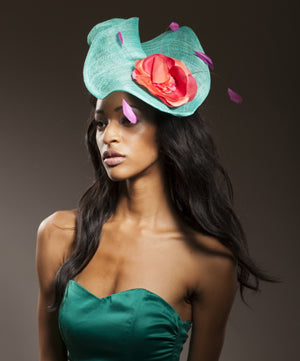 Basic Ascot Sinimay Fascinator Workshop $180.00 March 18th  ,2020