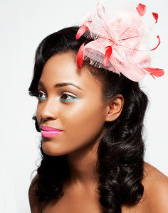 Virtual Freeform Ascot Sinimay Fascinator Workshop $95.00 June 11th ,2020