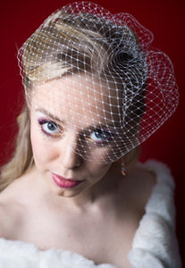 Basic Fly Away Birdcage Veil