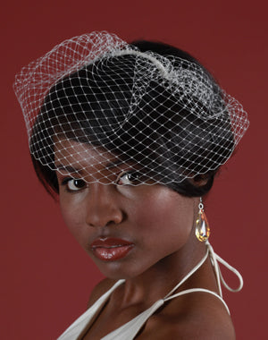 Basic Mini Birdcage Veil