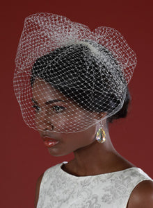 Double Layer Birdcage Veil