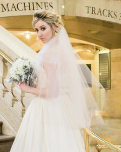 Finger Tip Length Veil