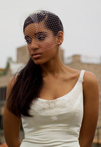 Mini full Birdcage Veil