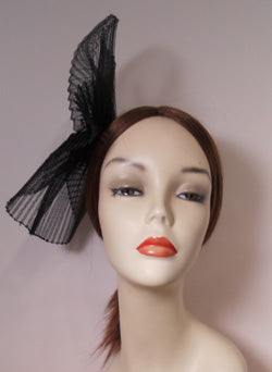 Pleated Horsehair Fascinator