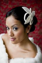 Load image into Gallery viewer, Virtual Velour cocktail hat /Bridal fascinator workshop $65.00 May 19th 2020 4-6pm