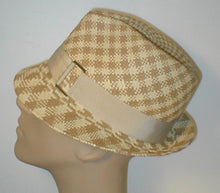 Load image into Gallery viewer, Panama Fedora with Grosgrain Band and Buckle