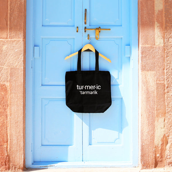 Shot of Gold Turmeric Tote
