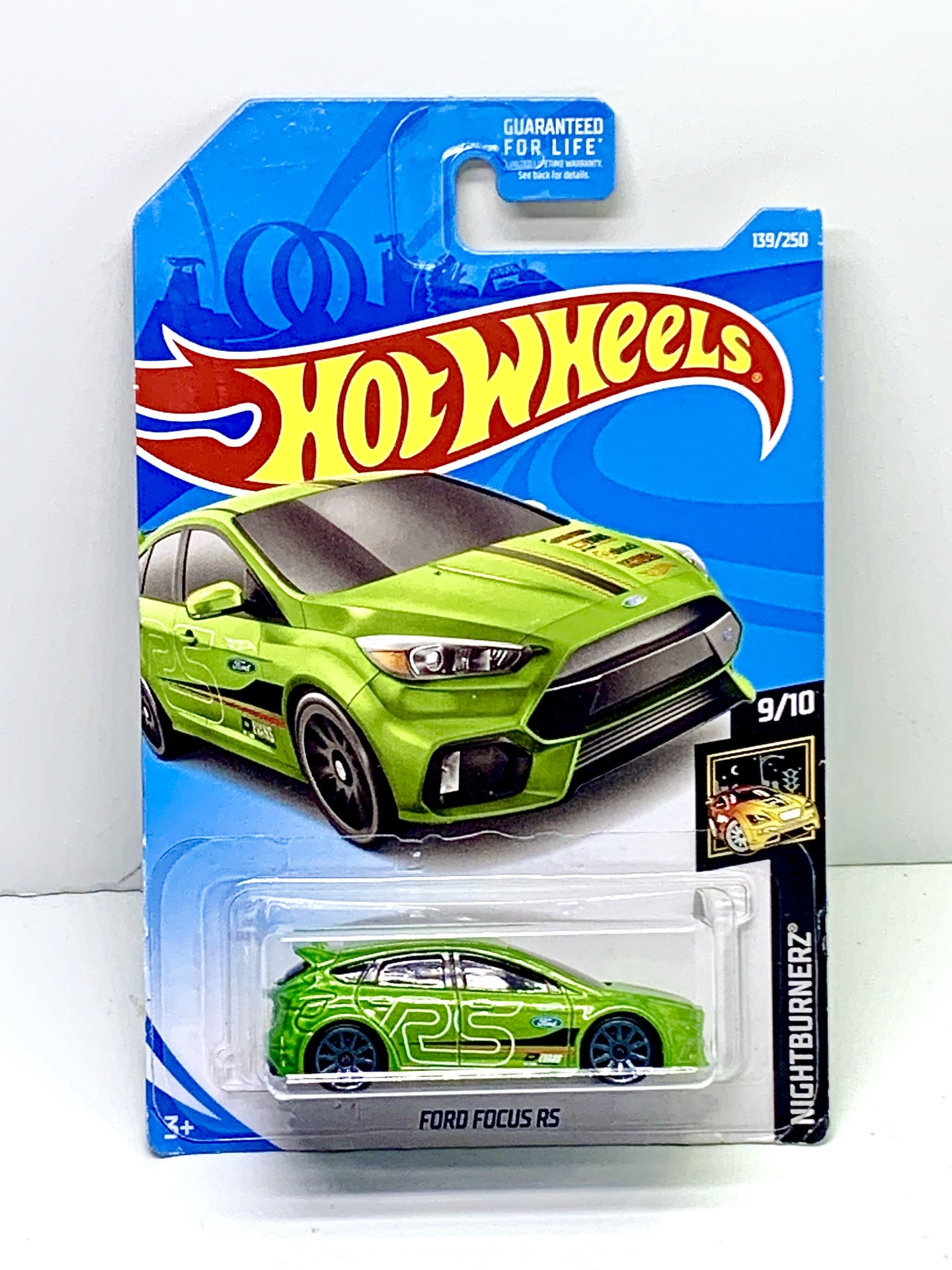 Hot wheels Ford Focus RS - Gonzo's Garage