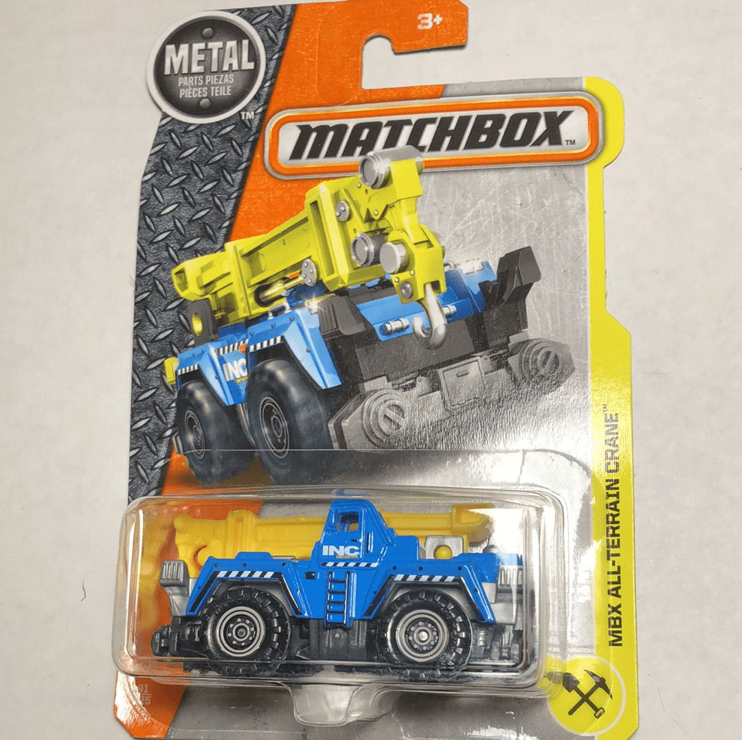 Matchbox MBX All Terrain Crane - Gonzo's Garage