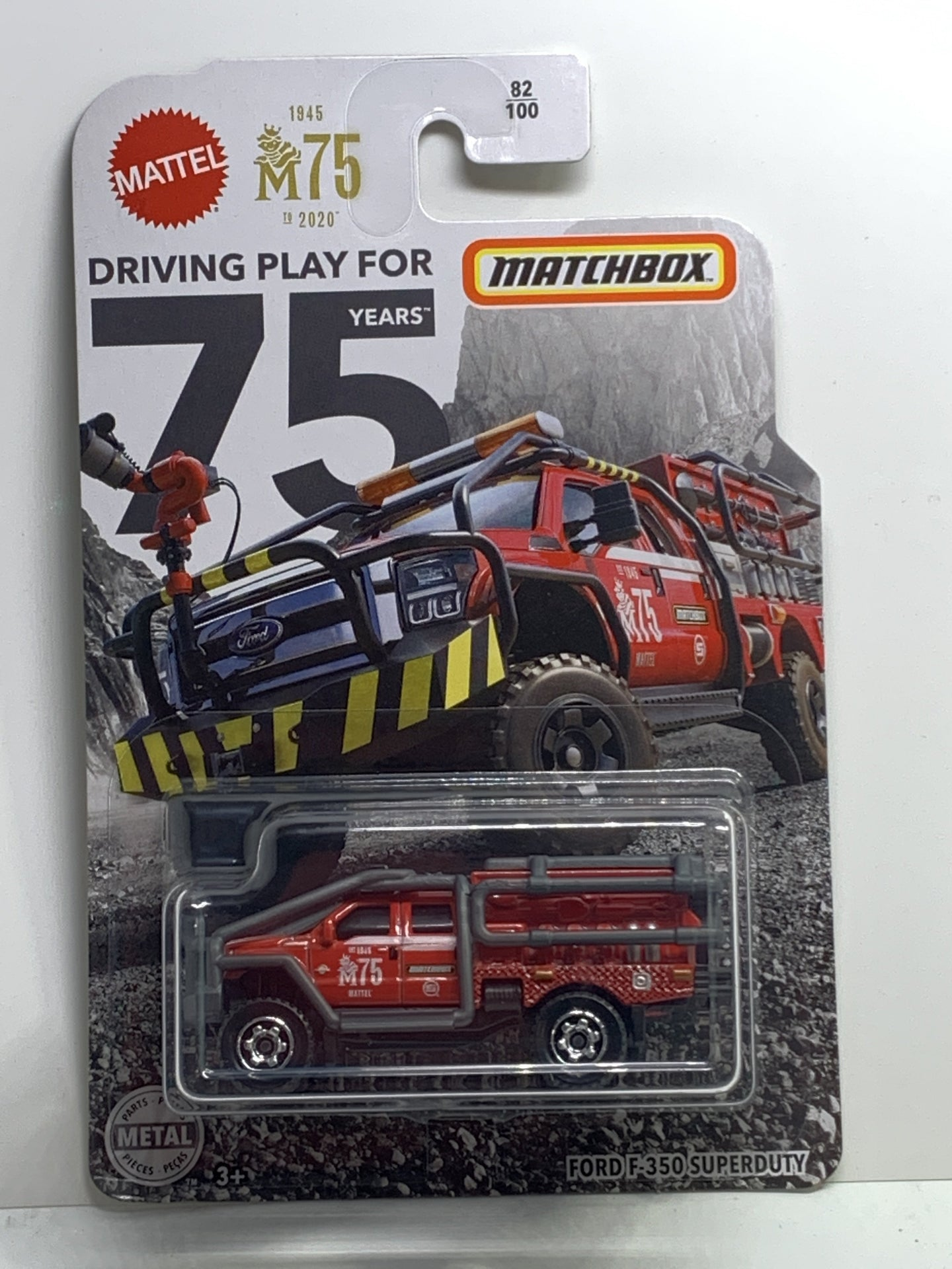 Matchbox Ford F-350 superduty - Gonzo's Garage