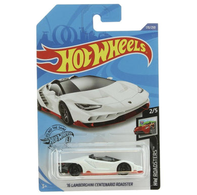 'Hot wheels 16 Lamborghini Centenario Roadster - Gonzo's Garage