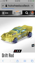 Load image into Gallery viewer, Hot Wheels Drift Rod - Gonzo's Garage