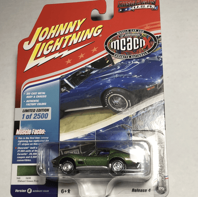 Johnny Lightning 1972 Chevrolet Corvette - Gonzo's Garage