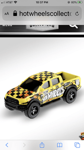 Hot Wheels 19 Ford Ranger Raptor - Gonzo's Garage