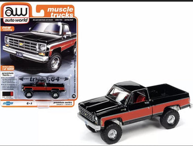 Auto world 1978 Chevrolet k10 Silverado fleetside pickup - Gonzo's Garage