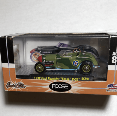 M2 Machines 1932 Ford Roadster Foose P-32 - Gonzo's Garage