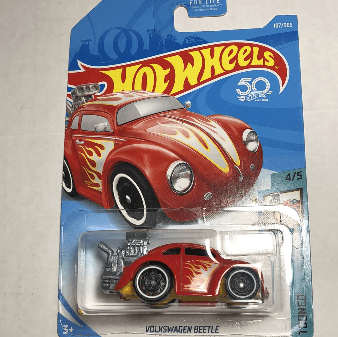 Hot wheels Volkswagen Beetle - Gonzo's Garage