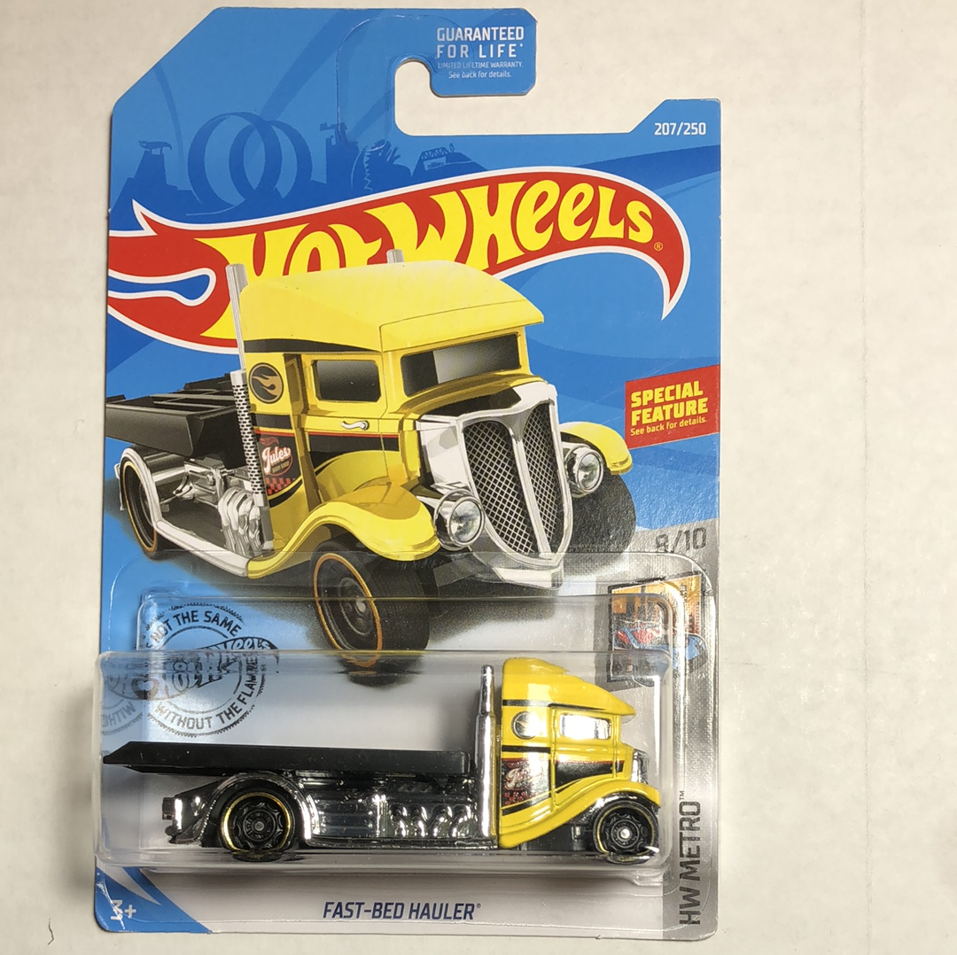 Hot wheels fast bed hauler treasure hunt - Gonzo's Garage