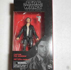 Star Wars the Black Series Captain Poe Dameron - Gonzo's Garage