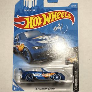 Hot Wheels 15 Mazda MX 5 Miata - Gonzo's Garage