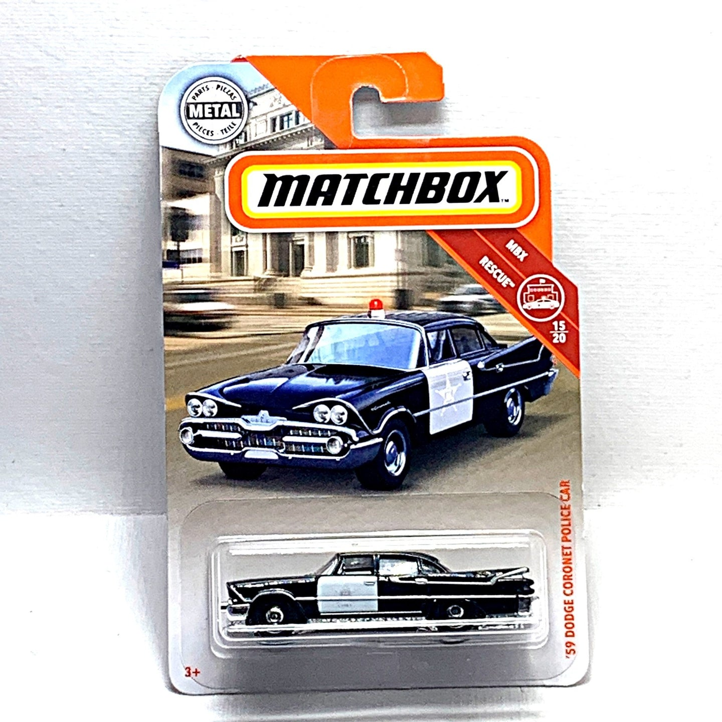 Matchbox 59 dodge coronet police car - Gonzo's Garage