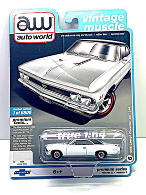 Auto world 1966 Chevy chevelle ss 396 - Gonzo's Garage