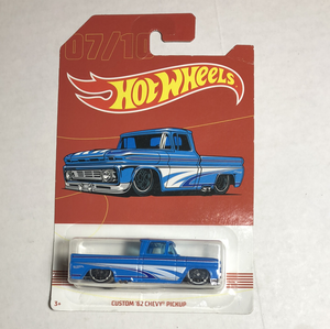 Hot Wheels pickup collection custom 62 Chevy pickup - Gonzo's Garage