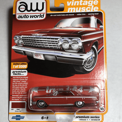 Auto World 1962 Chevy Impala SS 409 - Gonzo's Garage