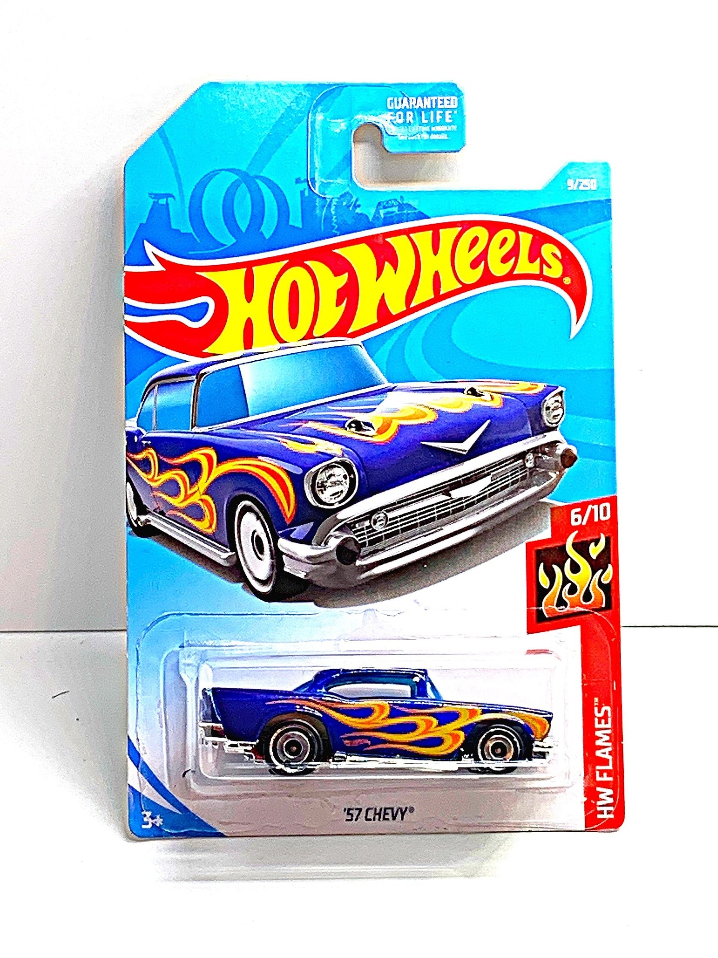 Hot wheels flames 57 Chevy - Gonzo's Garage