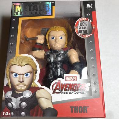 "Metals diecast Marvel 4"" Thor Avengers age of Ultron - Gonzo's Garage"