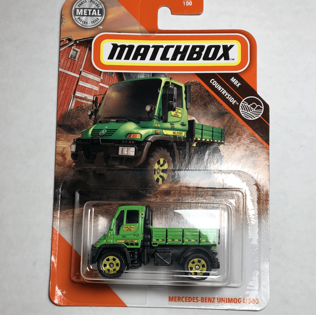 Matchbox Mercedes Benz Unimog U300 - Gonzo's Garage