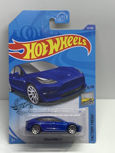Load image into Gallery viewer, Hot wheels Tesla model 3 - Gonzo's Garage
