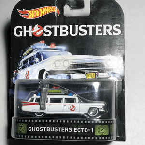 Hot Wheels premium Ghostbuster ECTO 1 - Gonzo's Garage