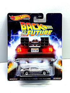Hot wheels premium back to the future time machine - Gonzo's Garage