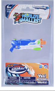 Worlds Smallest Nerf super soaker - Gonzo's Garage