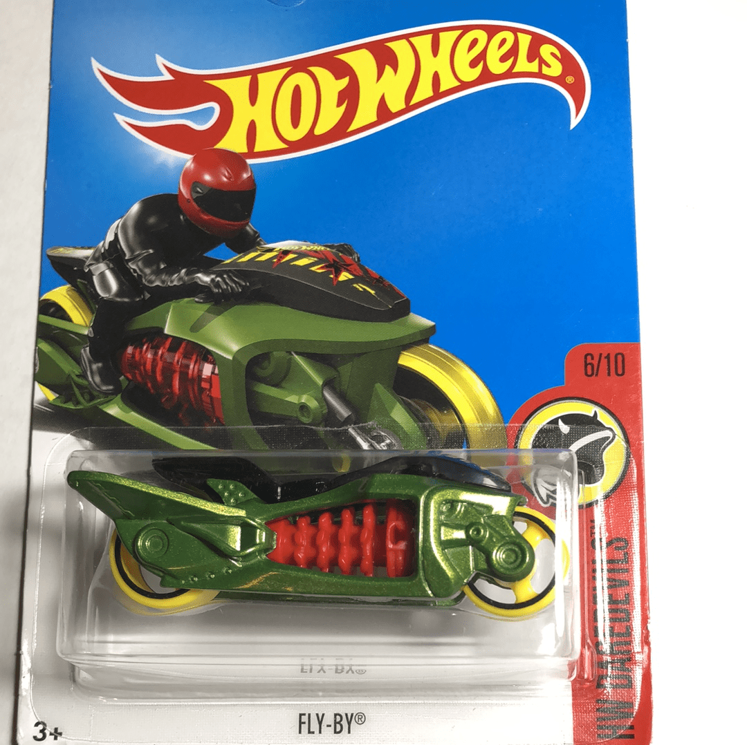 Hot Wheels Fly By - Gonzo's Garage