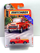 Load image into Gallery viewer, Matchbox 57 gmc stepside - Gonzo's Garage