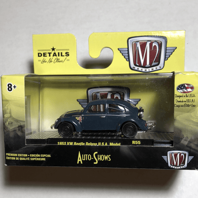 M2 machines 1953 vw beetle Deluxe USA model - Gonzo's Garage