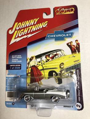 Johnny Lightning 1956 Chevy Bel Air Convertible - Gonzo's Garage