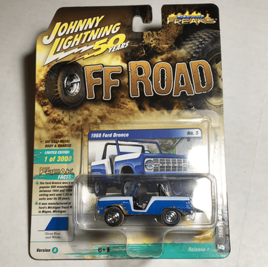Johnny Lightning 1968 Ford Bronco - Gonzo's Garage