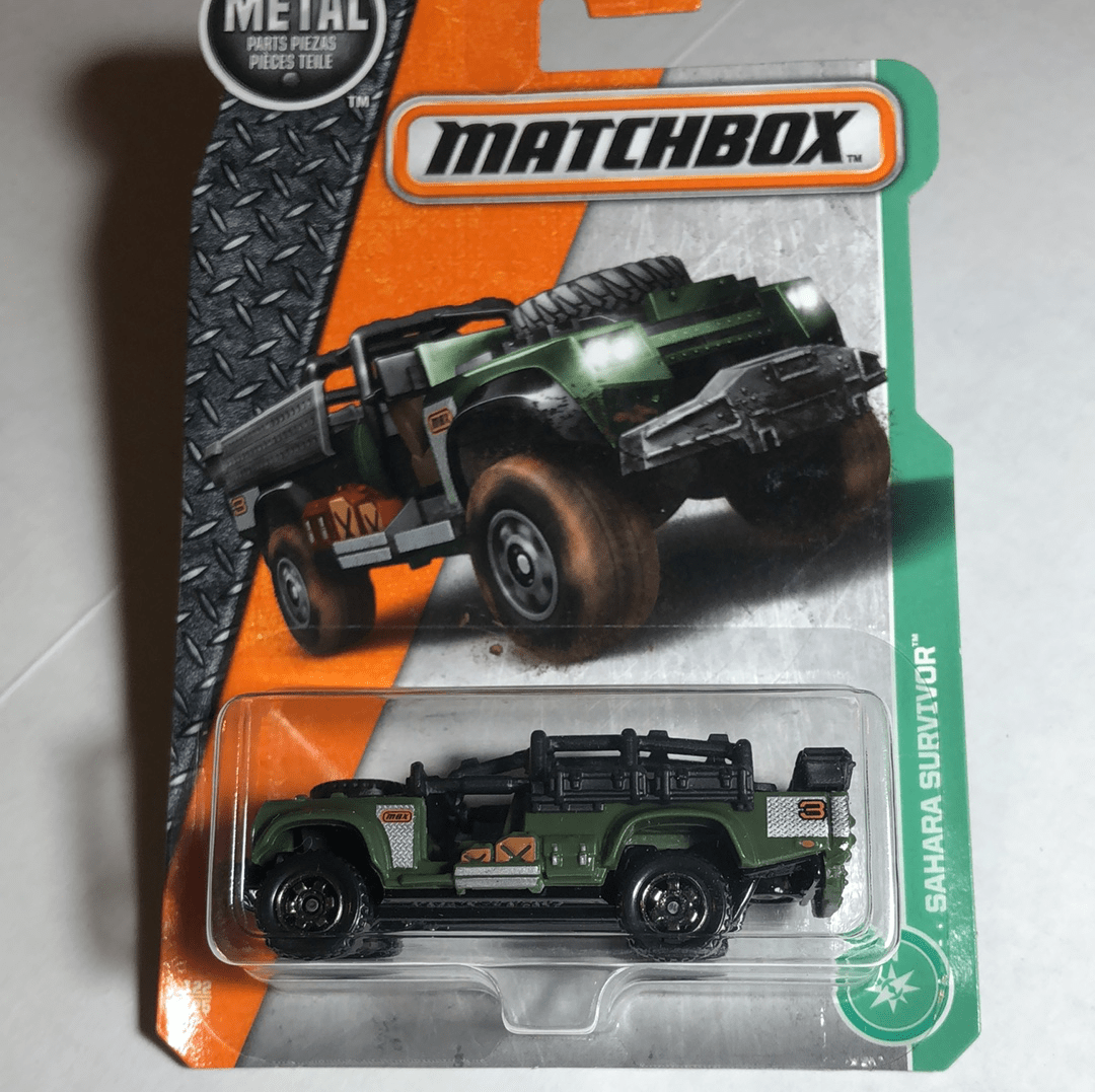 Matchbox Sahara Survivor - Gonzo's Garage