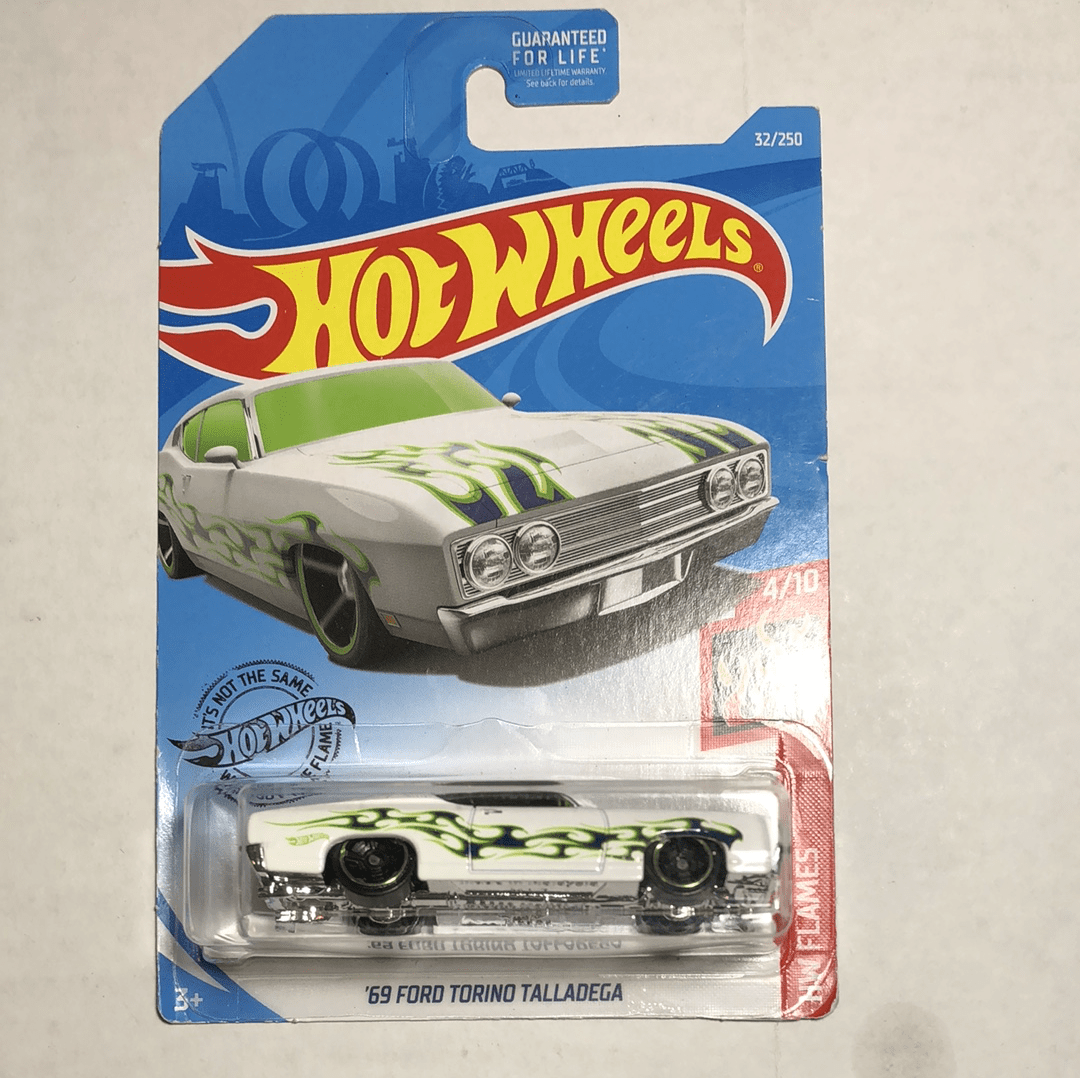Hot Wheels 69 Ford Torino Talladega - Gonzo's Garage